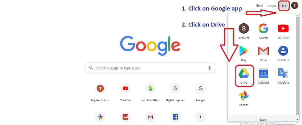 upload file on Google drive