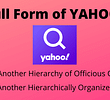 What is the Full Form of YAHOO