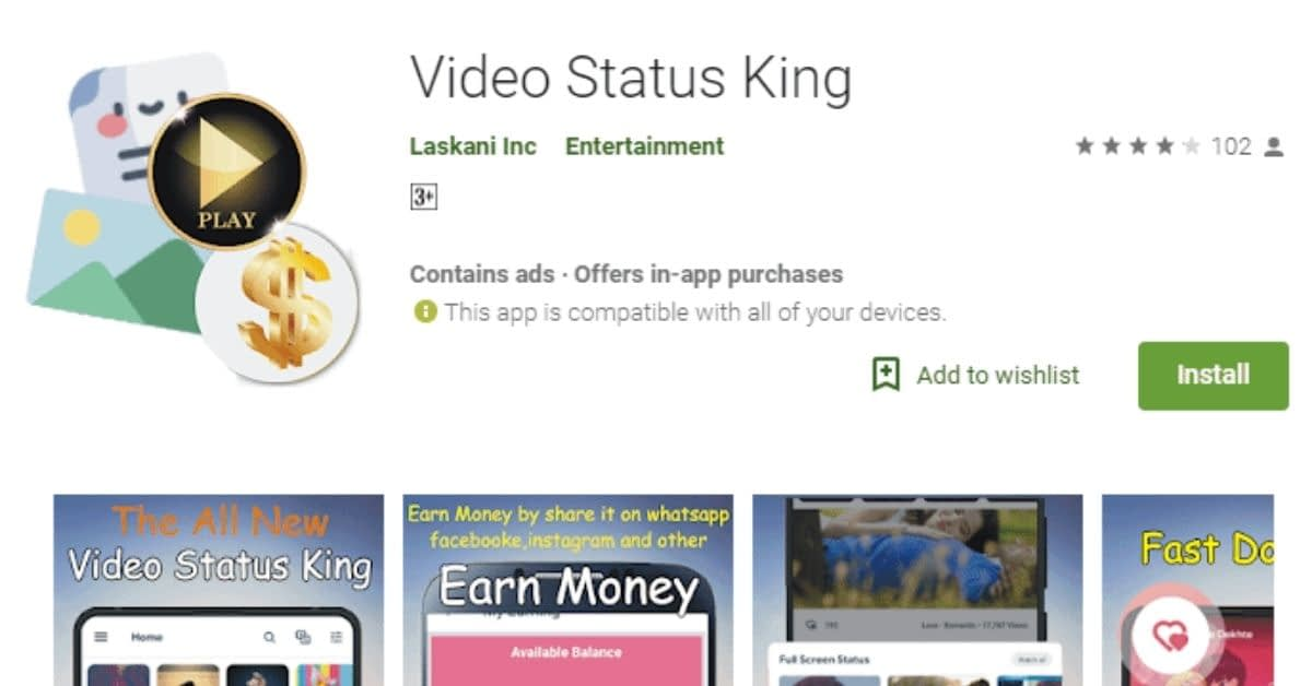 Best App to Earn Money by Watching a Short Video