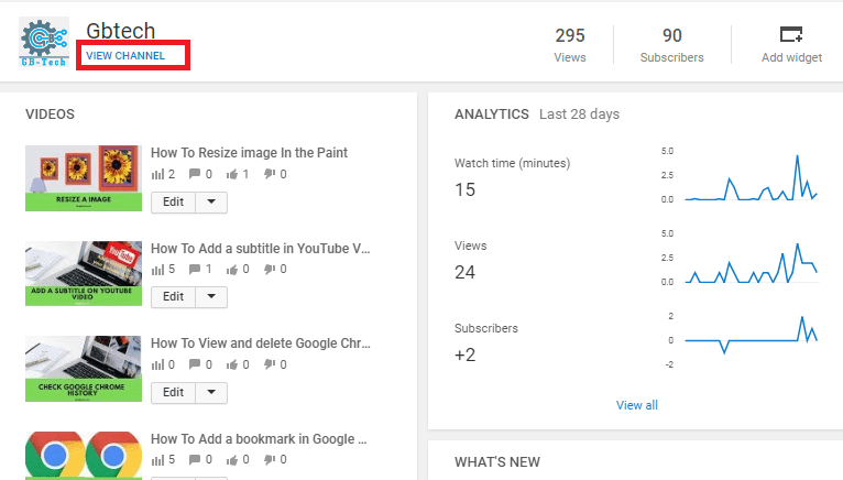 add your social media icon on your YouTube channel