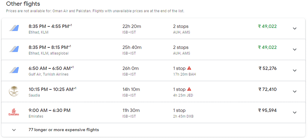 use Google flights to find the cheapest flight