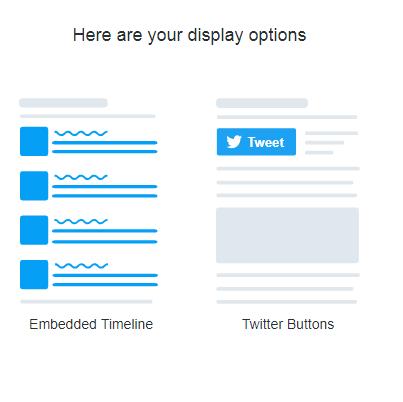 add twitter button to website