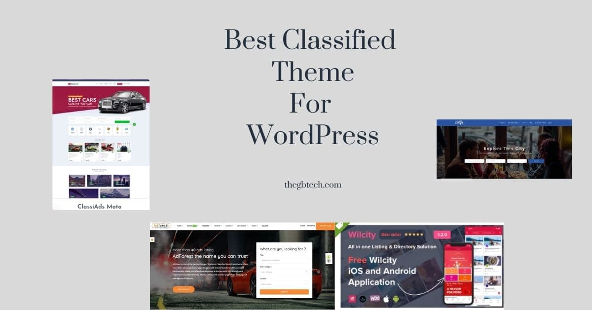 Best Classified Website Themes for WordPress