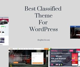 Best Classified theme for WordPress
