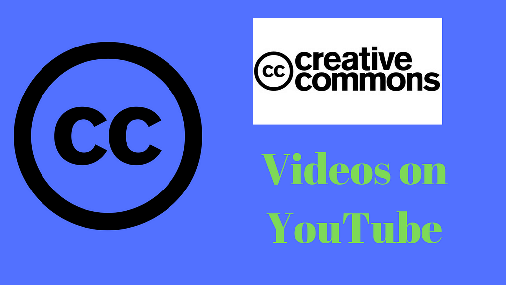 How to Find Creative Commons Videos on YouTube