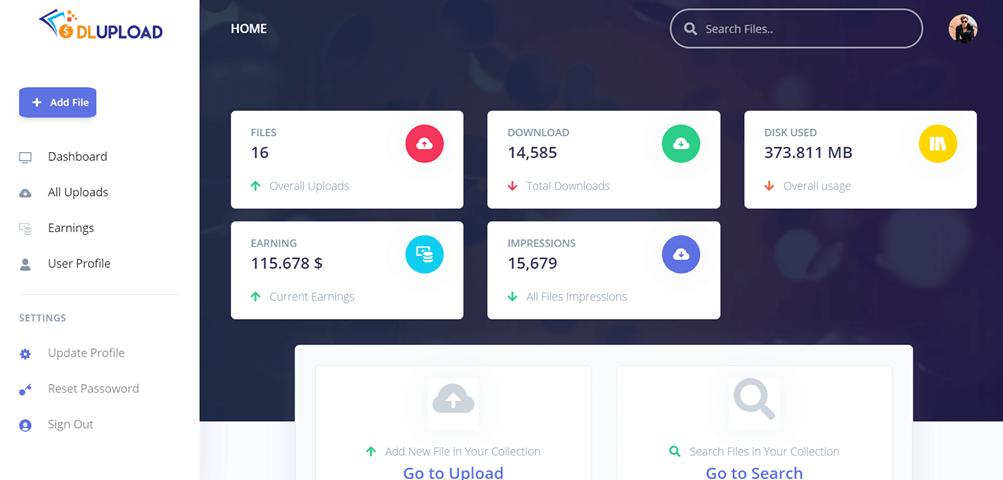 make money with Dlupload