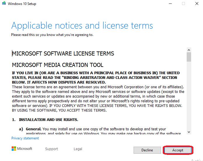 Windows 10 Bootable USB