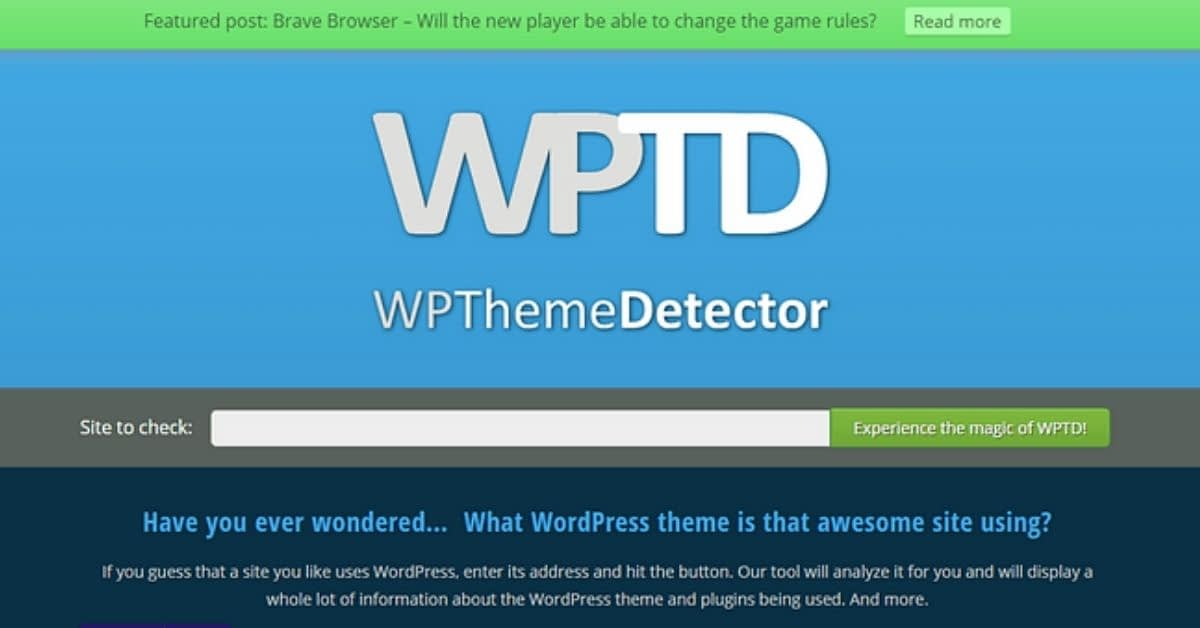 How to Find Out What WordPress Theme A Website is Using