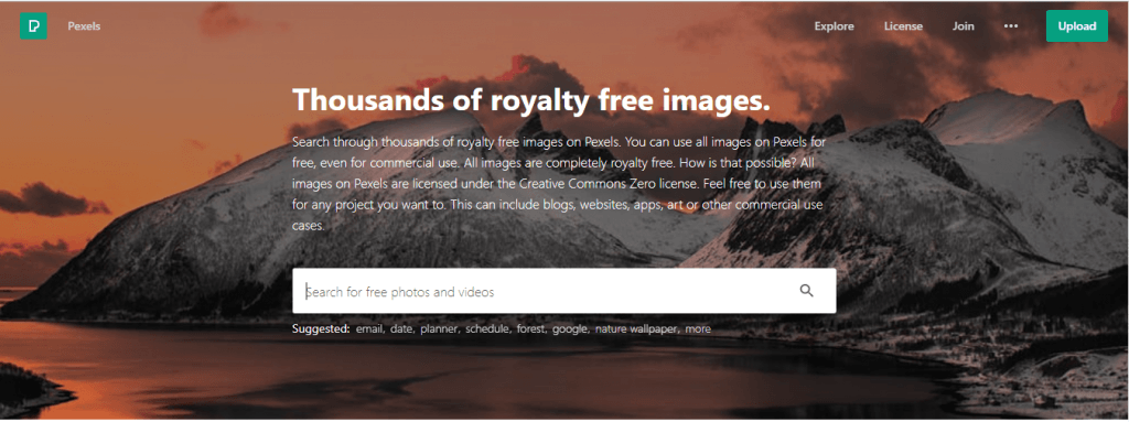 best place to find free photos or images