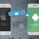 How to transfer files between Apple IOS and Android